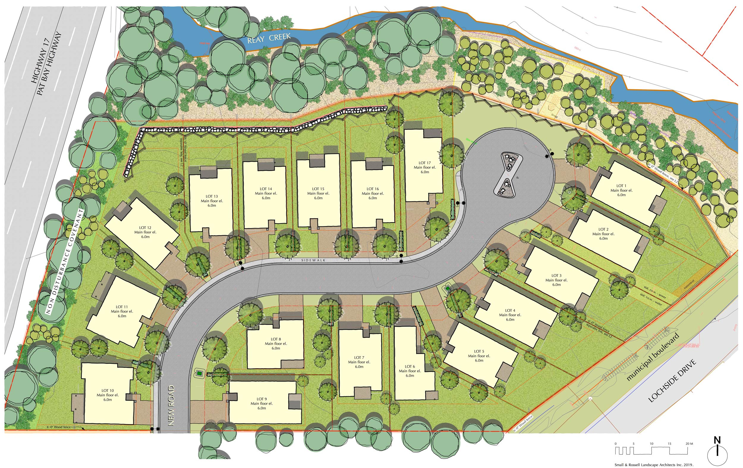 Homes at Bakerview Site Plan
